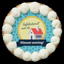 """Slagroomtaart """"Nieuwe woning"""""""