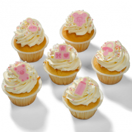 """Cupcakes """"It's a girl"""""""