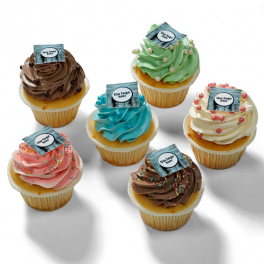 "Cupcakes ""Met logo"""