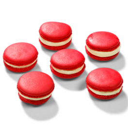 "Macarons ""Red Velvet"""