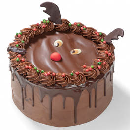 "Chocolate Dripcake ""Kerstmis"""