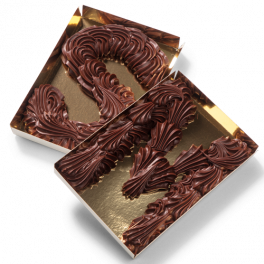"Chocoladeletter S ""Puur"""