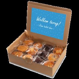 """Muffin box """"Welkom terug!"""""""