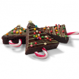 "Brownies ""Kerstboom"""